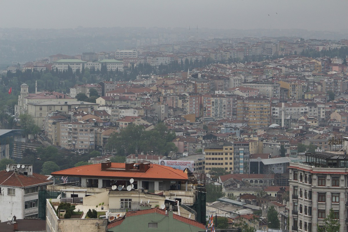 Стамбул 2015 - Виды Стамбула с Галатской башни - Виды Стамбула на Запад