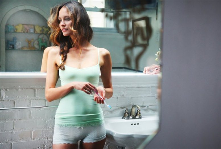 Martha Hunt, Crista Cober, Pania Rose - Free People The Intimates 2012 collection