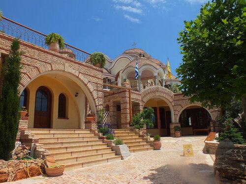 Монастырь Ахангелов на Тасосе