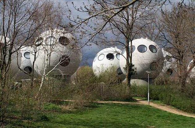 Bolwoningen Houses. Нидерланды