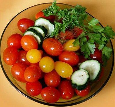 малосольные помидоры без рассола