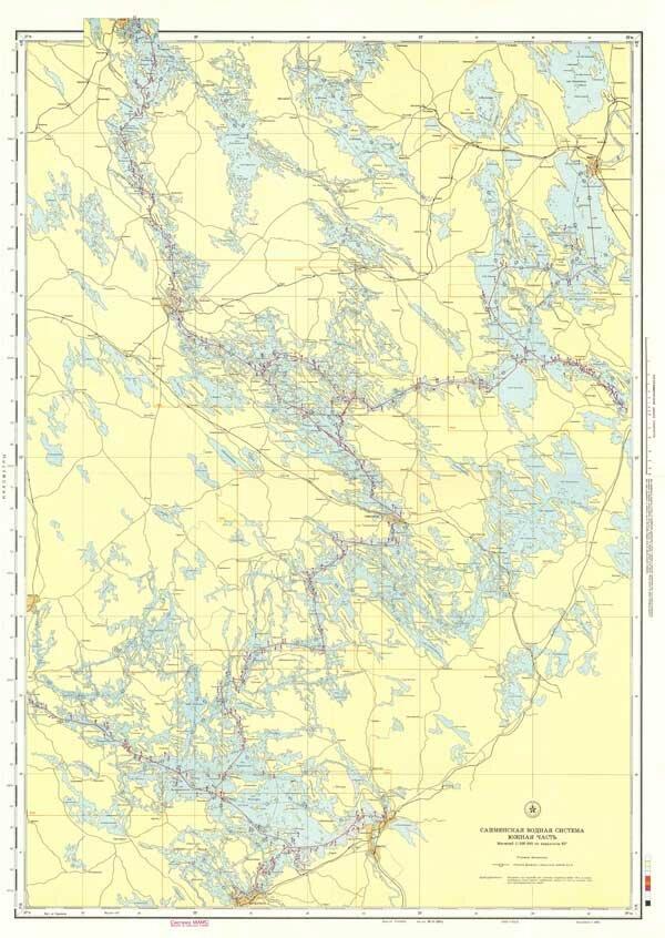 Сайменская водная система южная часть