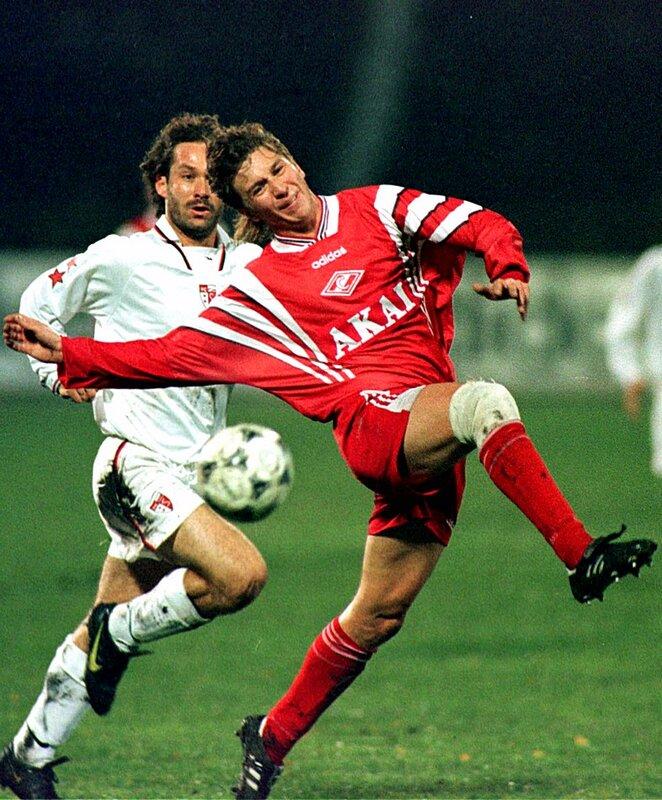 "Кубок УЕФА 1997/98 ""Спартак"" - ""Сьон"" 5:1"