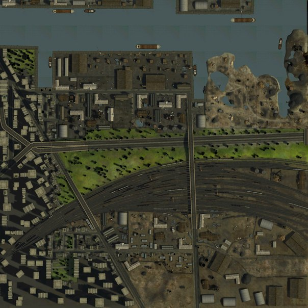 Карта Порт