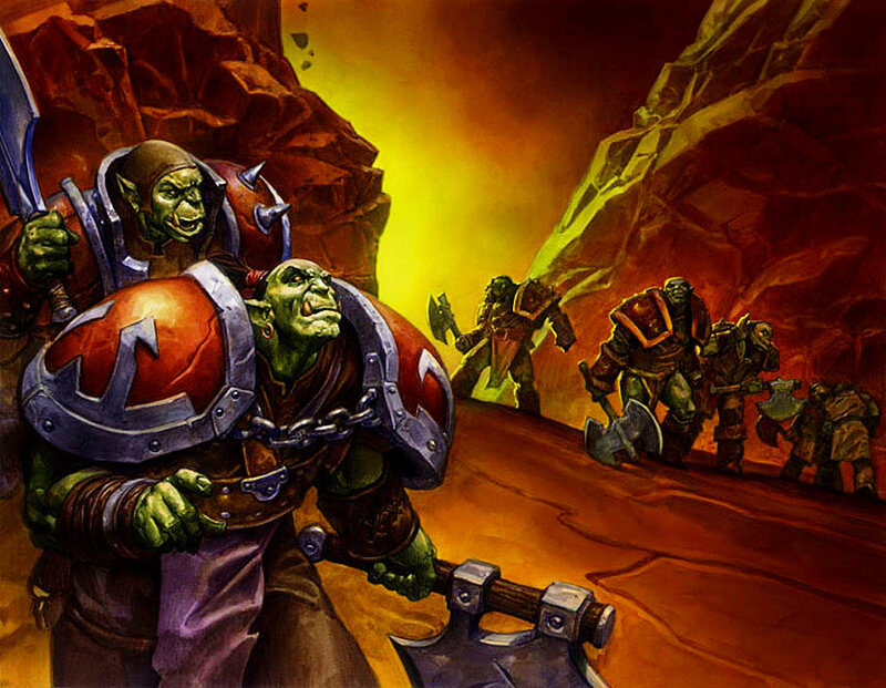 New World of Warcraft Comic. gallery. Trading Card Game art gallery
