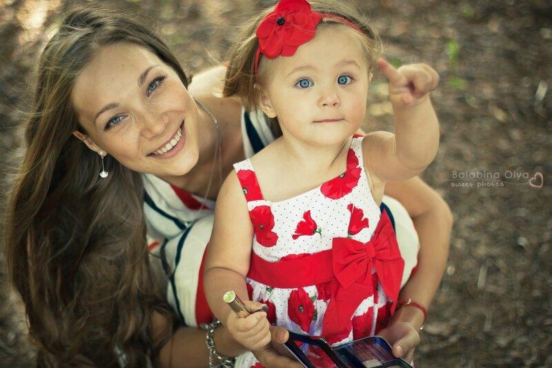 фотосессия мамы и дочки фото