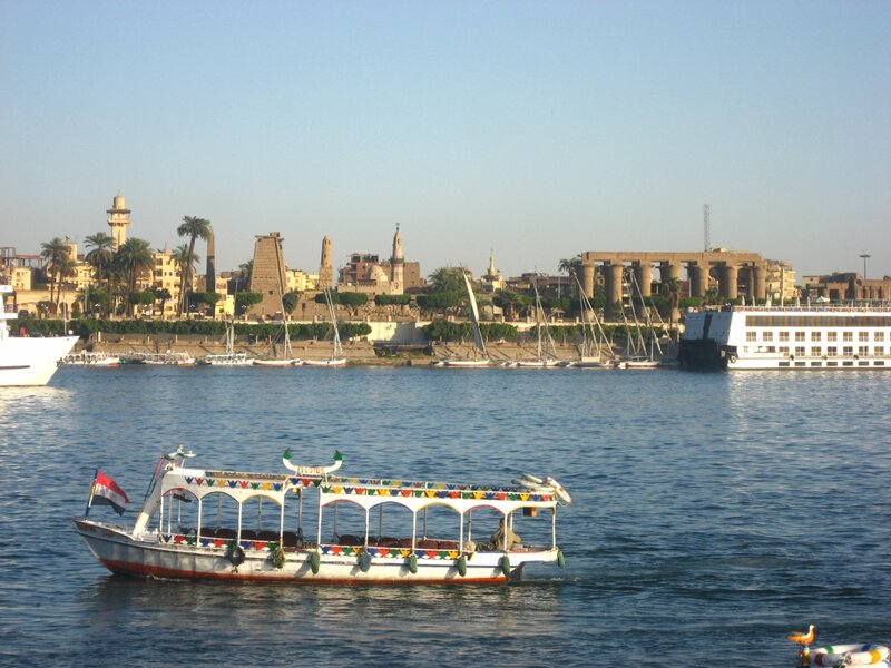 Прогулка по Нилу в Луксоре и фелуки на реке - Техника, Реки - luxor, egypt