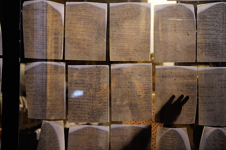 People read lists of victims in Krymsk