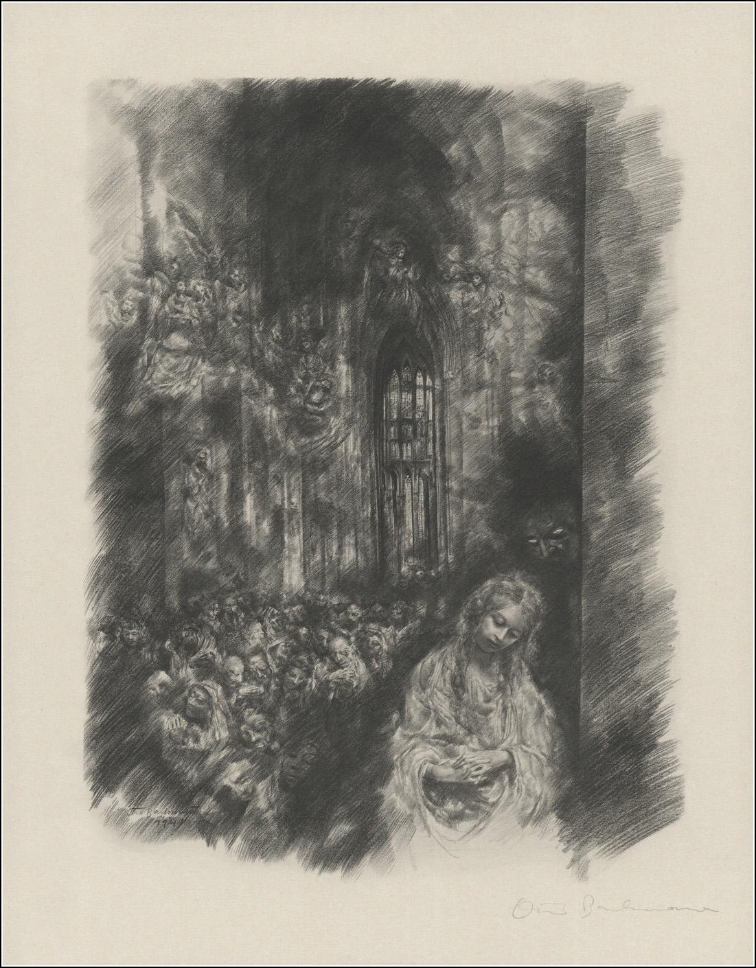 Otto Bachmann. Zwölf Zeichnungen zu Goethes Faust