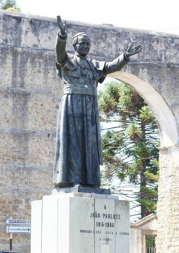 Коимбра. Площадь Иоанна Павла II (Praça João Paulo II)