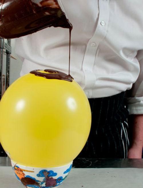 Винни-Пух, воздушный шарик и шоколадная вазочка. Туториал в фото и цитатах