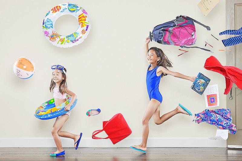 Как сделать креативную фотосессию детей