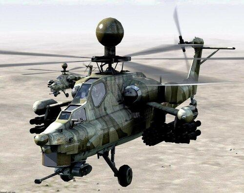 """Разрушительная сила ударного вертолёта Ми-28Н """"Ночной охотник"""""""
