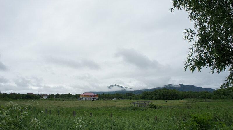 низкая облачность утром 05 июля 2012