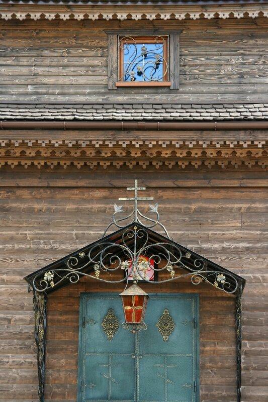 Федоскино, Церковь Николая Чудотворца, деталь