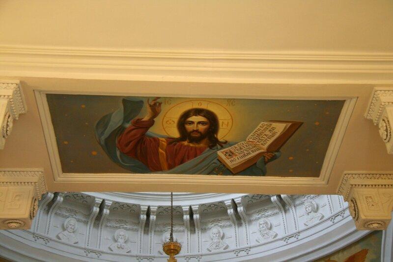 Николо-Прозорово, Роспись храма Николая Чудотворца