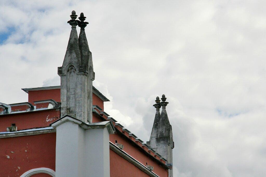 Марфино, Усадебный дом-дворец. Фрагмент