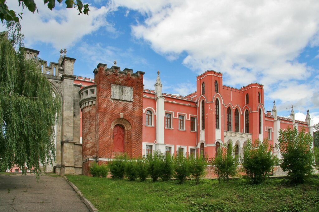 Марфино, Въездные ворота и усадебный дом