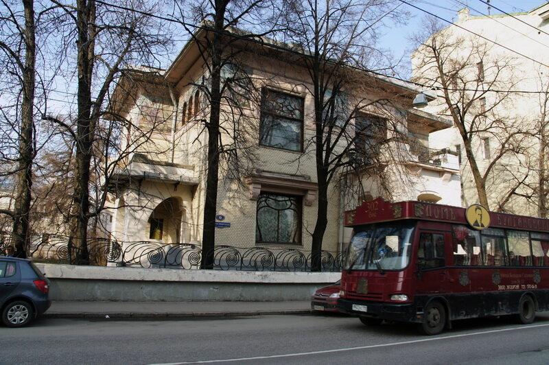 Особняк Рябушинского, арх. Ф.О.Шехтель (Московский модерн)
