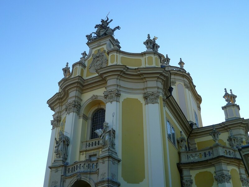Львов, церковь Святого Юра (Lviv, Church of St. George)