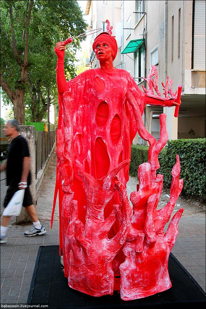 Фестиваль живих скульптур
