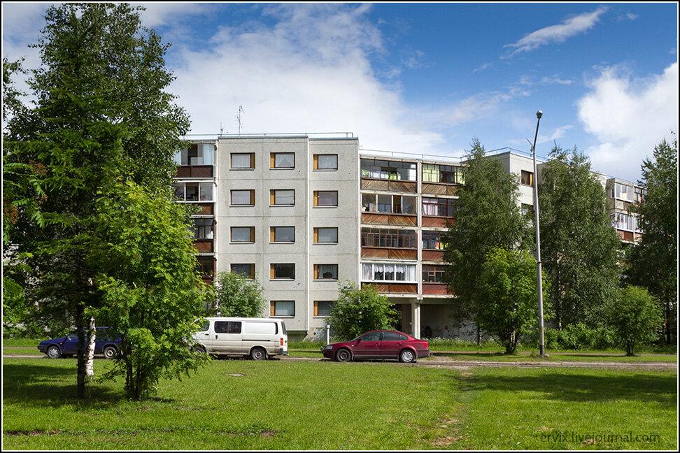 Жилые дома в Костомукше
