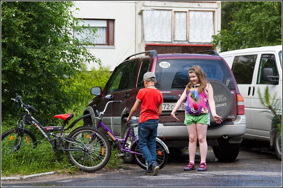 Дети в Костомукше
