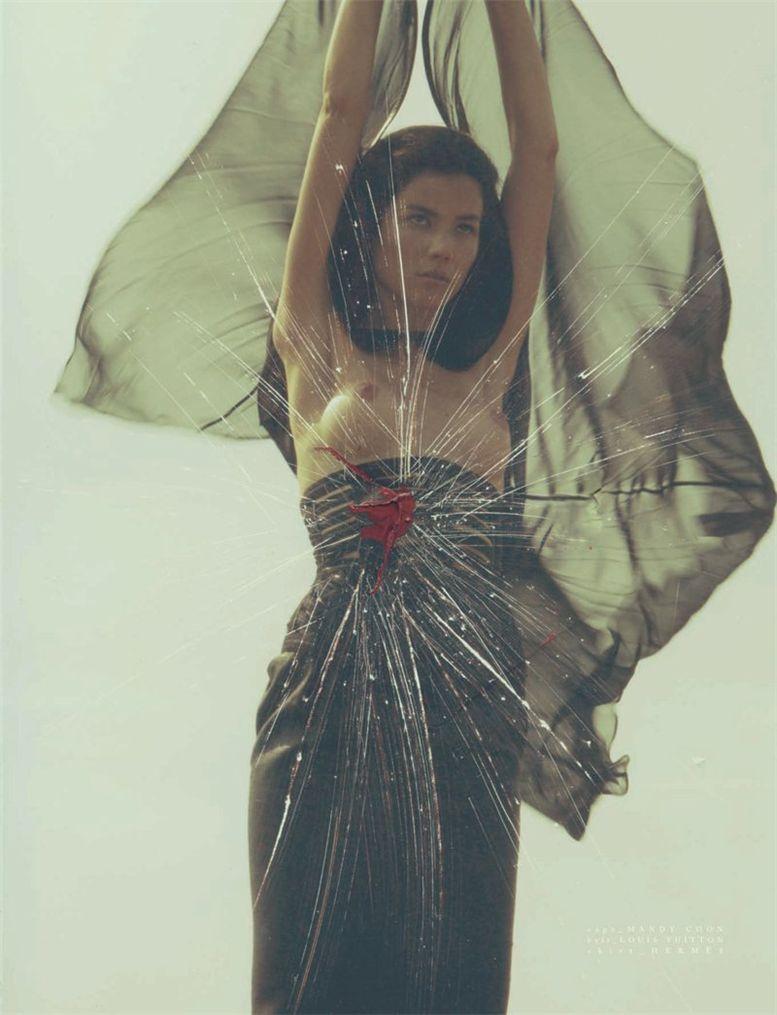 Sheila Marquez / Шейла Маркес, фотограф Michael Donovan в журнале Vision China