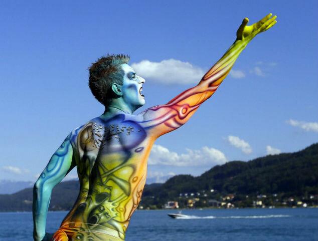 Всемирный фествиаль бодиарта 2012