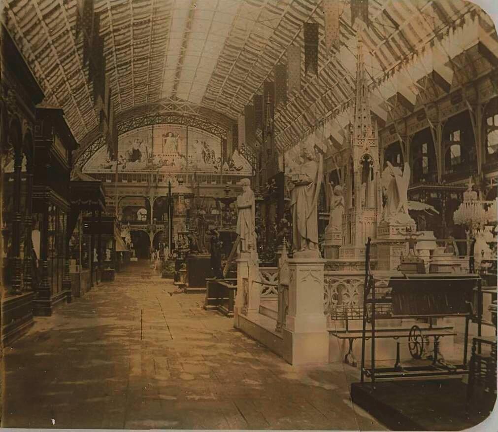 1855. Всемирная выставка в Париже