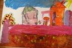 """Зубовская Диана (рук. Смирнова Ирина Андреевна, Тонких Екатерина Николаевна) - """"Разноцветная осень"""""""