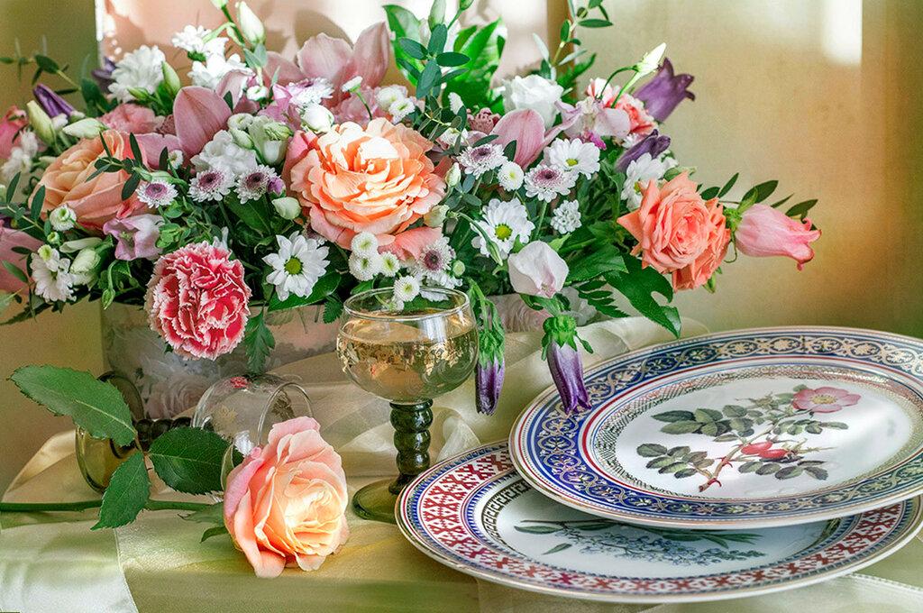 Цветочного настроения в День твоего Рождения!