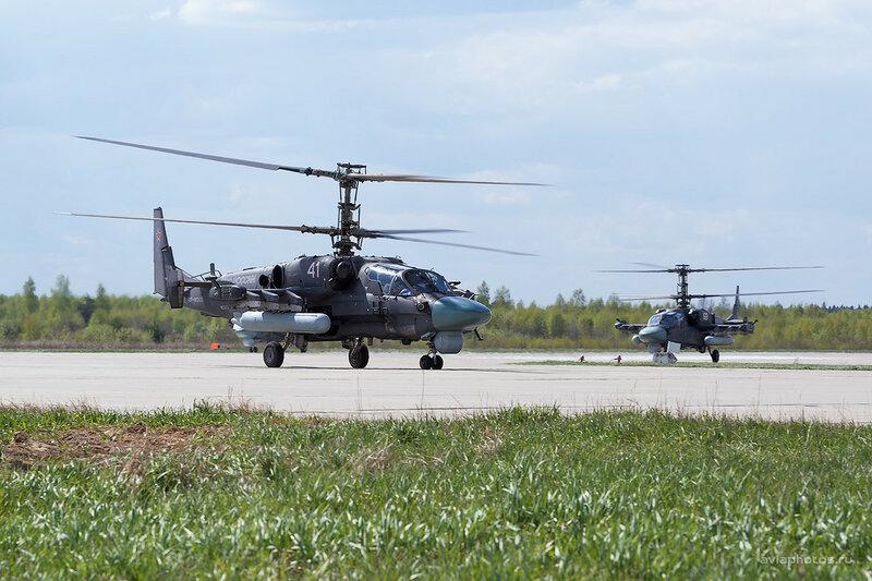 Камов Ка-52 (RF-91333 / 41 белый) ВКС России D803338