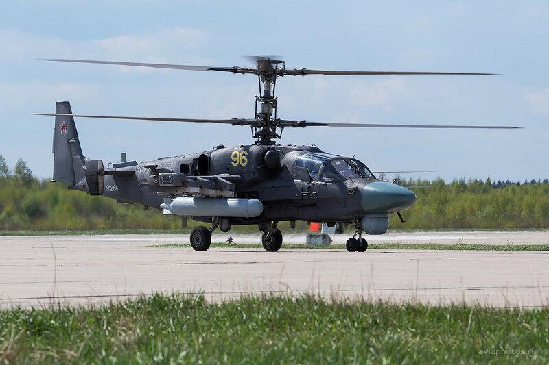Камов Ка-52 (RF-91266 / 96 желтый) ВКС России D803336a
