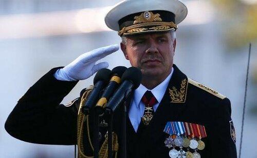 Киев выдал разрешение на арест российского адмирала Витко
