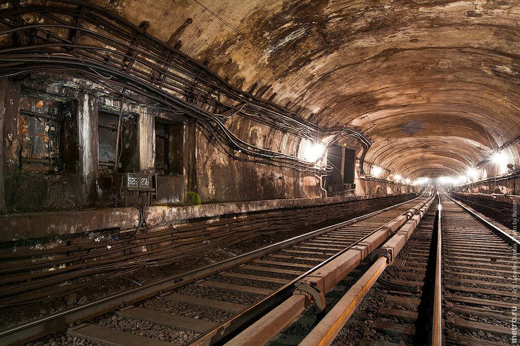 Первый, самый старый тоннель московского метро