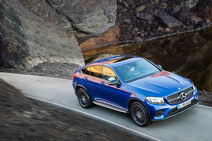 Mercedes скрестил внедорожник с купе