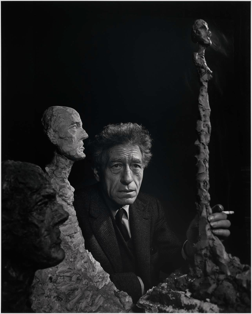 Альберто Джакометти1965 Юсуф Карш Канадский фотограф 1908-2002