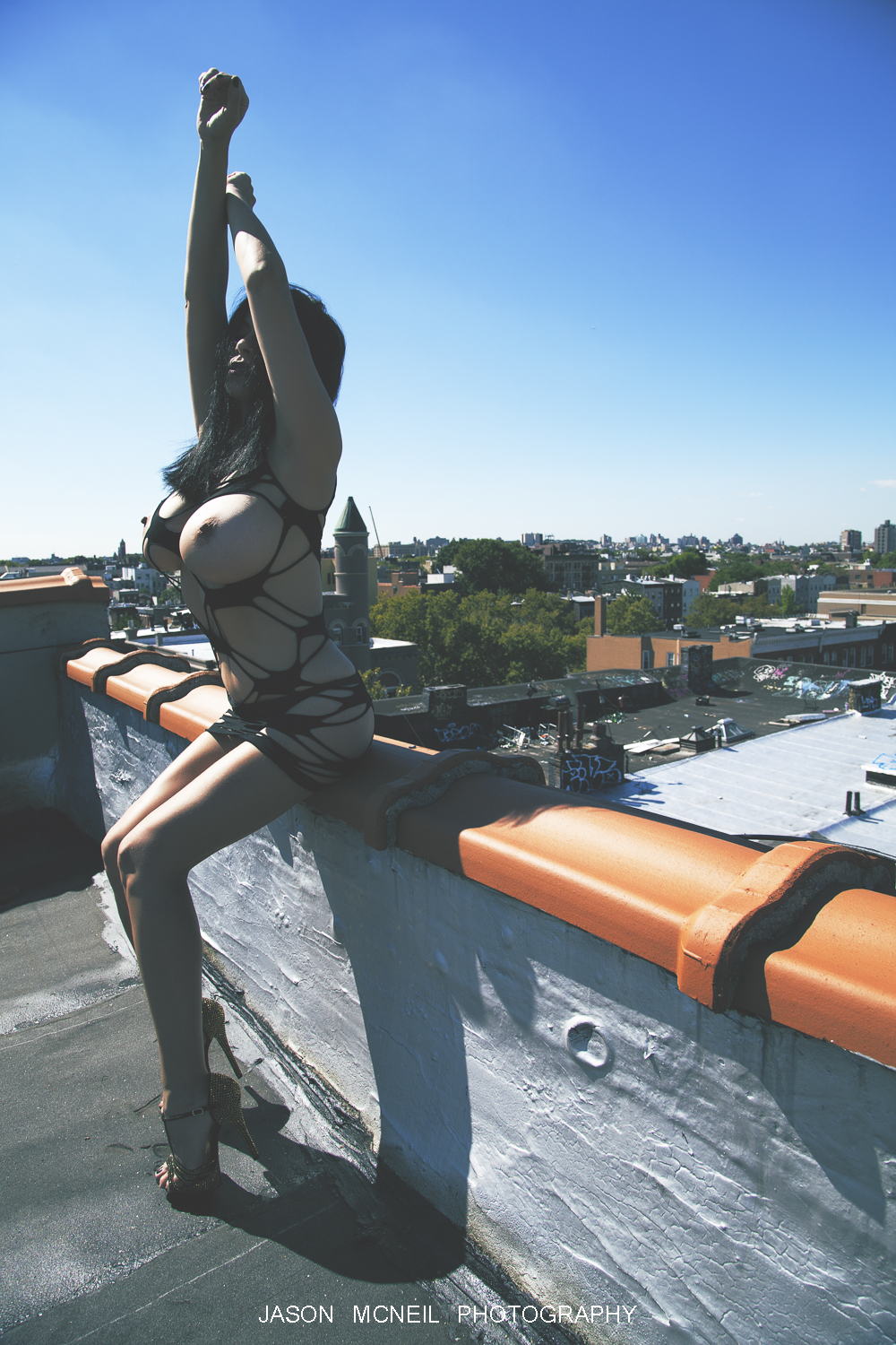 "Brooklyn""s Rooftop by Beatnik Photographer"