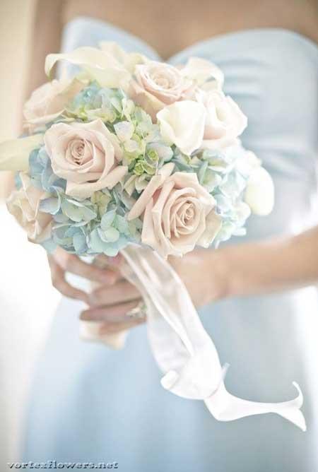 Какой свадебный букет подобрать к платью — photo 1
