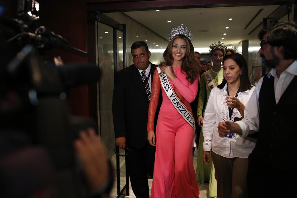 Самые красивые девушки конкурса «Мисс Венесуэла». Фотографии