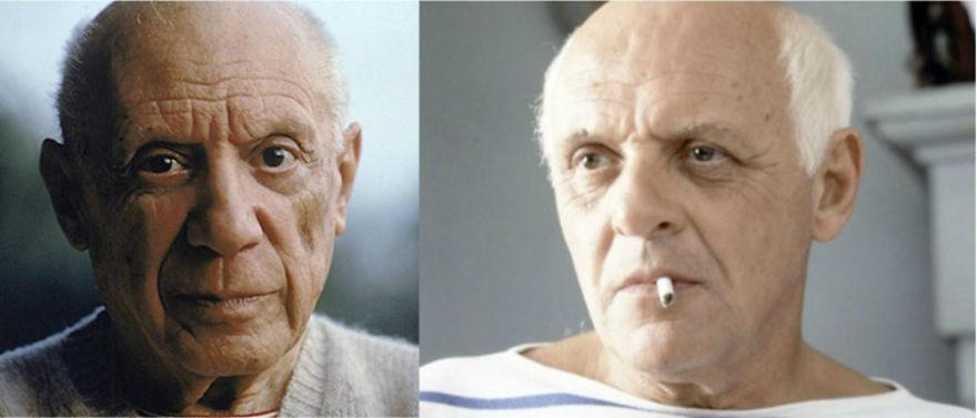 Энтони Хопкинс в роли Пабло Пикассо, «Прожить жизнь с Пикассо».