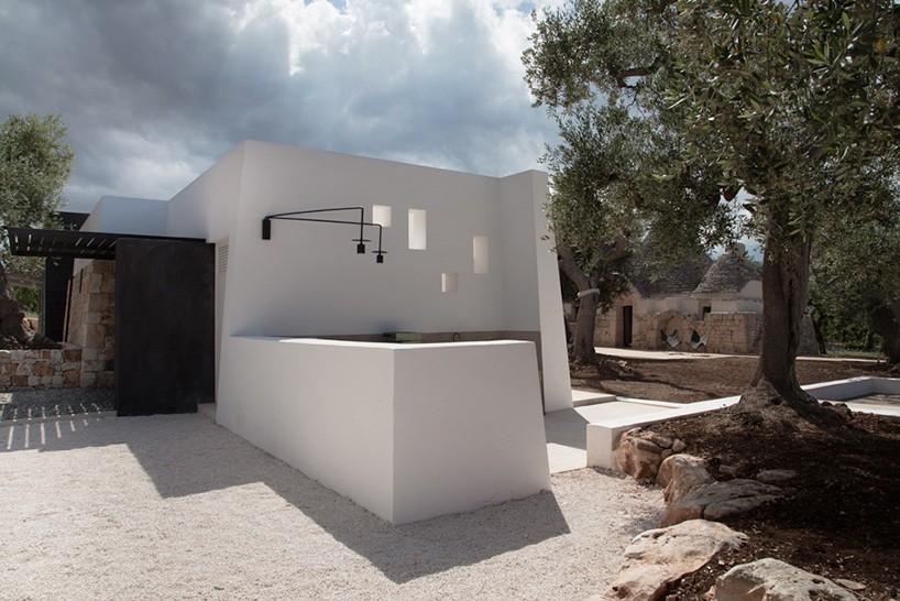 Традиция и модерн в частном доме от Luca Zanaroli