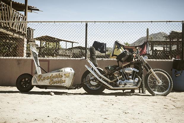 Стоит упомянуть, что мотоциклы у Брайана в крови. Он унаследовал любовь к пыльной дороге и палящему