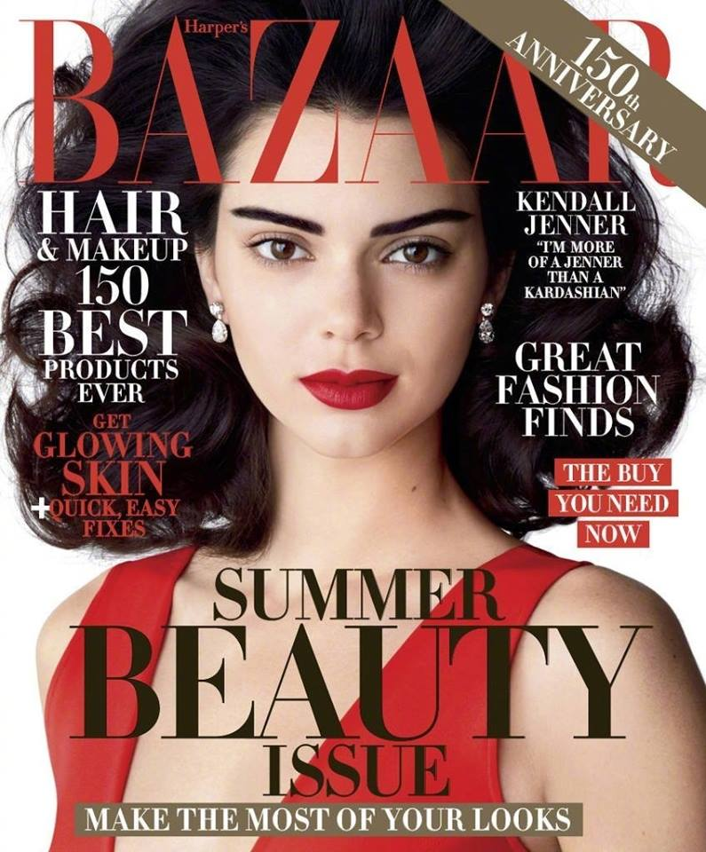 Кендалл Дженнер в Harper's Bazaar