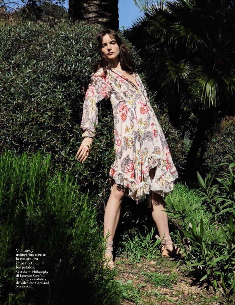 Анна де Рийк на страницах Vogue Spain