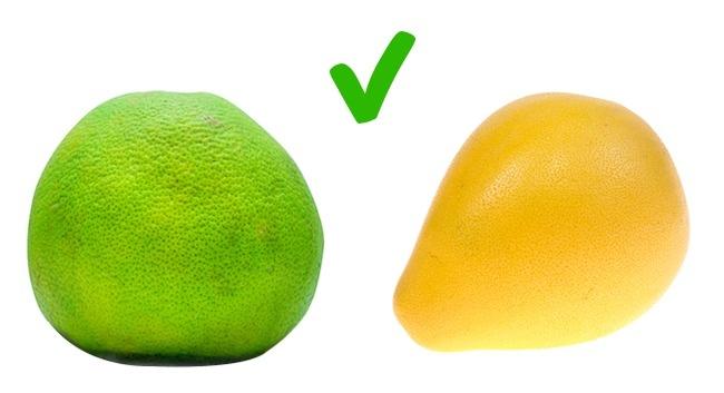 © depositphotos  © depositphotos  Цвет помело может быть желтым, зеленым иоранжевым вз