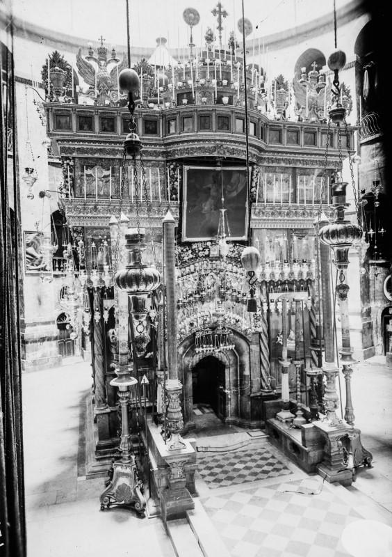 1915 год. Храм Гроба Господня.