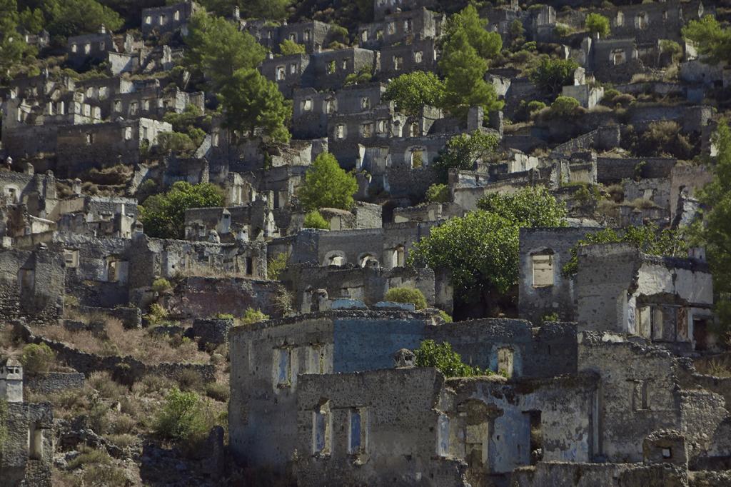 Турция. На сегодняшний день деревня Каякёй является музеем и историческим памятником. Более 350