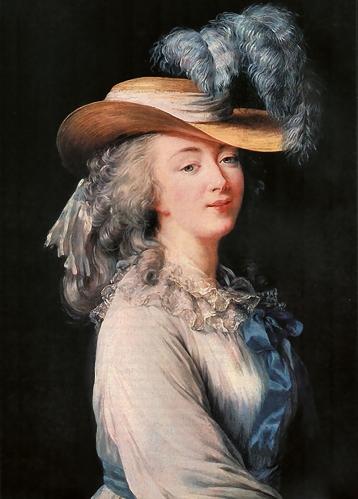 Еще одна официальная любовница Людовика XV, который приблизил ее к себе путем заключения брака с бра
